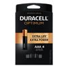 Duracell Duracell® Optimum Batteries, 4 EA/PK DUR OPT2400B4PRT