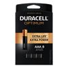 Duracell Duracell® Optimum Batteries, 8 EA/PK DUR OPT2400B8PRT