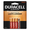 Duracell Duracell® Quantum Alkaline Batteries with Power Preserve Technology™ DUR QU2400B4Z