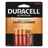 Duracell Duracell® Quantum Alkaline Batteries with Power Preserve Technology™ DUR QU2400B8Z