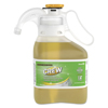 cleaning chemicals, brushes, hand wipers, sponges, squeegees: Concentrated Crew Bathroom Cleaner, Citrus Scent, 1.4 L