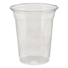 Dixie Clear Plastic PETE Cups DXE CPET12DX