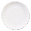 disposable dinnerware: Mardi Gras™ Clay Coated Paper Plates