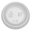 Dixie Dixie® Plastic Portion Cup Lid DXE PL10CLEAR