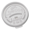 Dixie Dixie® Hot Drink Cups Tear Back Plastic Lids for Dixie Sage™ Collection DXETB9538X