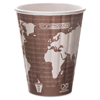 Disposable Cups Earth Friendly Cups Lids: Eco-Products® World Art™ Insulated Hot Cups