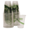 Disposable Cups Earth Friendly Cups Lids: Eco-Products® GreenStripe™ Renewable Resource Compostable Cold Drink Cups