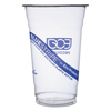 Clean and Green: Eco-Products® BlueStripe™ Recycled Content Clear Plastic Cold Drink Cups