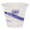 Eco-Products Eco-Products® BlueStripe™ Recycled Content Clear Plastic Cold Drink Cups ECO EPCR9