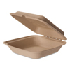 Eco-Products Eco-Products® Wheat Straw Hinged Clamshell Containers ECO EPHCW8