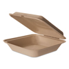 Eco-Products Eco-Products® Wheat Straw Hinged Clamshell Containers ECO EPHCW9