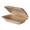 Eco-Products Eco-Products® Wheat Straw Hinged Clamshell Containers ECO EPHCW96