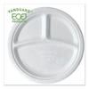 Eco-Products Eco-Products® Vanguard Renewable and Compostable Sugarcane Plates ECO EPP007NFA
