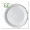 Eco-Products Eco-Products® Vanguard Renewable and Compostable Sugarcane Plates ECO EPP013NFA