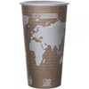 Eco-Products World Art Renewable Resource Compostable Hot Drink Cups ECP EP-BHC20-WA