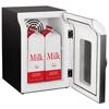Mind Reader Mind Reader Cube Mini Coffee Station Refrigerator EMS REF01BLK