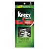 Krazy Glue All-Purpose Super Glue Single-Use Tubes, 0.017 oz, Clear, 6/PK EPI 2027153