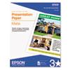 Epson Epson® Matte Presentation Paper EPS S041062