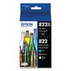 Epson Epson® T822XL Original High-Capacity Ink Cartridges EPS T822XLBCS