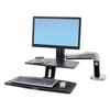 Ergotron Ergotron® WorkFit-A Sit-Stand Workstation with Suspended Keyboard ERG 24391026