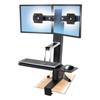 computer workstations: Ergotron® WorkFit-S Sit-Stand Workstation