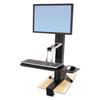 Ergotron Ergotron® WorkFit-S Sit-Stand Workstation ERG 33344200