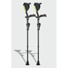 Ergoactives Ergobaum 7G Shock Absorber Forearm Crutches, 1 Pair, Black (5 to 66) ERX A001