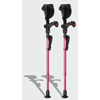 Ergoactives Ergobaum Junior Forearm Crutches 1 Pair- Pink (39 to 5) ERX A010