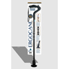 Ergoactives Ergocane 2G Shock Absorber Walking Cane, One-Size-Fits-All, Carbon ERX A050