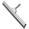 Squeegees: Ettore - Aluminum Straight Floor Squeegee 24 Inches Wide