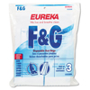 vacuum bags: Style F & G Disposable Dust Bags for Upright Vacuums, 3/PK, 6 PK/CT