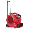 Electrolux DRY TIME Air Mover with Wheels and Handle, 1281 cfm, Red, 20 ft Cord EUR SC6057A