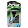 Rechargeable Batteries: Energizer® Recharge Pro Charger with 4 AA Rechargeable Batteries