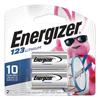 Eveready Battery Energizer® e²® Photo Lithium Batteries EVE EL123APB2