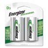 Energizer Energizer® e² NiMH Rechargeable Batteries EVE NH50BP2