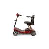 ewheel: EWheels - (EW-REMO) REMO Auto-Flex Travel 4-Wheel Scooter, Red