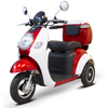 Power Mobility: EWheels - (EW-37) Vintage 3-Wheel Scooter, Red