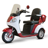 Power Mobility: EWheels - (EW-42) 3-Wheel Heavy Duty Scooter, Red