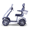 EWheels (EW-72) 4-Wheel Heavy Duty Scooter with Electromagnetic Brakes + White Glove Delivery EWH EW-72S-WHITEGLOVE