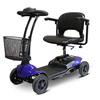 ewheel: EWheels - (EW-M35) 4-Wheel Lightweight Scooter, Blue