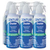 Century Duster Century Duster® Disposable Compressed Gas Duster, 10 oz. 6/PK FAL CDS6