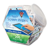 Falcon Safety Dust-Off® Antistatic Monitor Wipes--Office Share Pack FAL DMHJ
