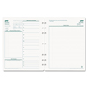 Franklin Covey Original Dated Daily Planner Refill, January-December, 8 1/2 x 11, 2018 FDP 35427