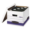 storage file boxes and moving boxes: Bankers Box® HANG'N'STOR™ Storage Boxes