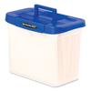 Fellowes Bankers Box® Heavy-Duty Portable File Box FEL 86301