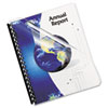 Fellowes Fellowes® Crystals™ Transparent Presentation Covers for Binding Systems FEL 52309