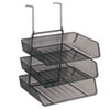 Fellowes Fellowes® Mesh Partition Additions™ Triple Tray FEL 75902