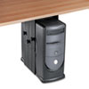 computer workstations: Fellowes® Under Desk CPU Holder