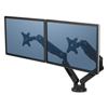 platforms stands and shelves: Fellowes® Platinum Series Dual Monitor Arm