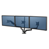 platforms stands and shelves: Fellowes® Platinum Series Triple Monitor Arm